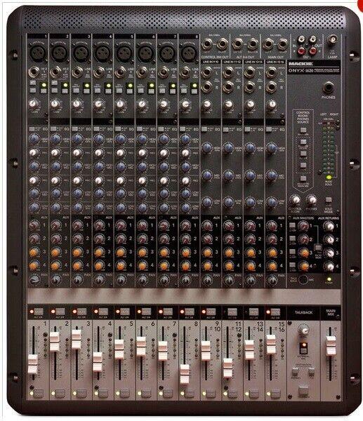 Mixer, Mackie Onyx 1620