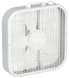 Image is loading Portable-Box-Fan-Lasko-20-in-Floor-3-  sc 1 st  eBay & Portable Box Fan Lasko 20 in Floor 3 Speed Cooling Electric Quiet ... Aboutintivar.Com