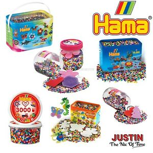 glitter Mix Hama 3000 Beads Refill Tub