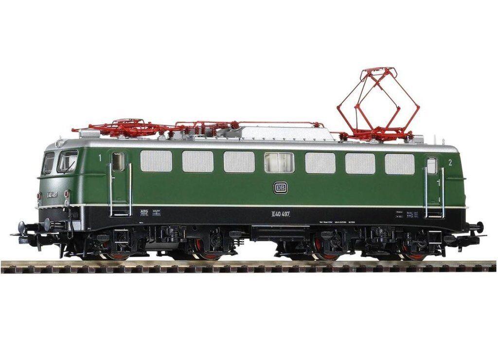 venderse como panqueques PIKO PIKO PIKO 51738 eléctrico locomotora E 40 DB III, verde  mejor oferta