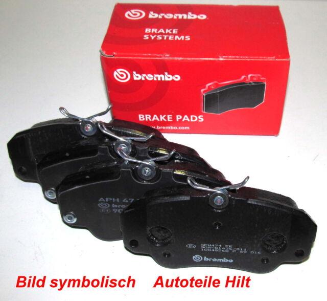 Beläge neu Brembo BMW 3 TOURING E30 5 E28 6 E24 7 E23 316 318 320 325 324 i td