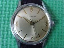 Vintage Swiss LEONIDAS 17J Mechanical Manual Watch