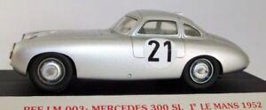 Starter-1-43-Scale-resin-LM003-Mercedes-Benz-300SL-1ST-Le-Mans-1952