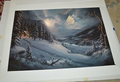 """/"""" And There Was Light /"""" by Jesse Barnes Limited Edition Print"""