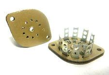 9 PIN Gold Edition Millen USA Wafer NOS Tube Socket B9A Miniature Noval 12AX7