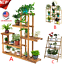 Multi-Tier-Wood-Plant-Stand-Planter-Rack-Flower-Pots-Holder-Display-USA-Lot thumbnail 1