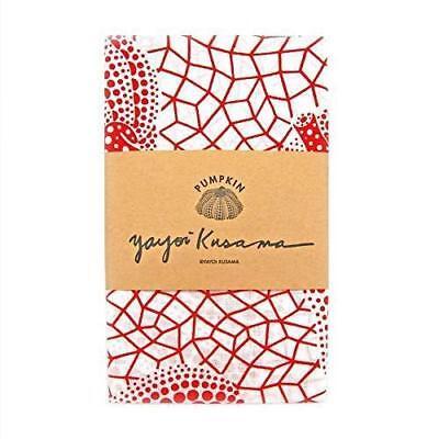 Yayoi Kusama Tenugui Cotton Towel White Red Pumpkin Artist New Collectible Rare