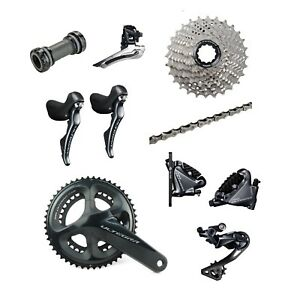 Shimano-Ultegra-R8020-2-x-11-Speed-50-34-Hydraulic-Disc-Brake-Groupset-Build-Kit