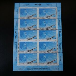 Feuille-Sheet-Stamp-post-Aerial-Pa-N-66-x10-2003-Neuf-Luxe-Mnh