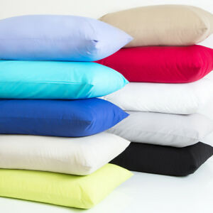 Luxury-Plain-Dyed-Poly-Cotton-Pillow-Cases-Pair