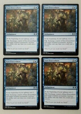 Guilds of Ravnica Complete Playset Commons /& Uncommons x4 Set FREE/&FAST SHIPPING