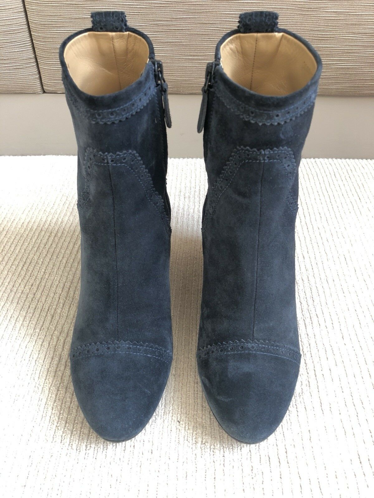 Balenciaga suede Wedge ankle Stiefel, Blau - Größe Größe Größe 38.5 19bb01