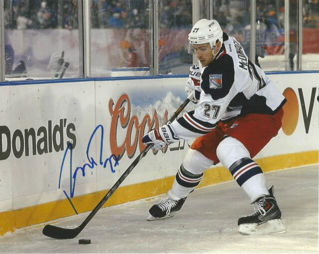 New York Rangers Ryan McDonagh Autographed Signed 8x10 NHL Photo COA C