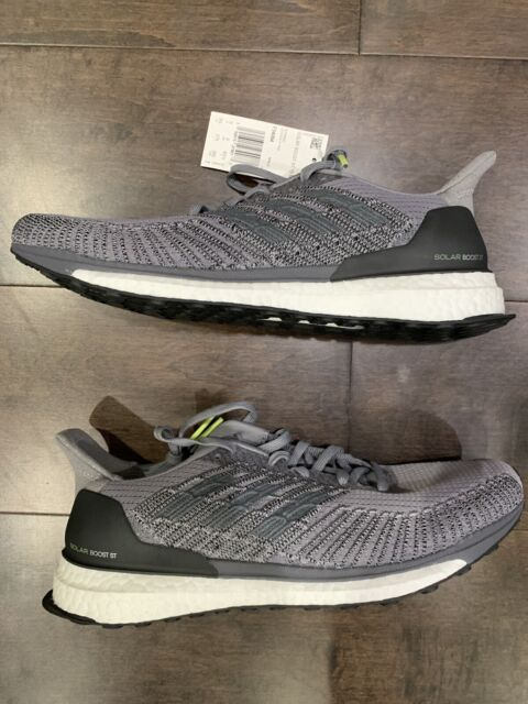Adidas Solar Boost ST 19 Men's Running Shoes Grey Size 9.5 New F34094