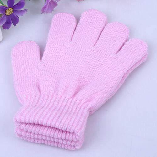 Children Kid Magic Glove Mitten Girl Boy Kid Stretchy Winter Warm Knitted Gloves