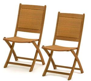 2x belardo hartholz rattan garten holz stuhl gartenstuhl klappstuhl hnlich teak ebay. Black Bedroom Furniture Sets. Home Design Ideas