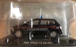 DIE-CAST-034-FIAT-STILO-1-9-JTD-2001-CARABINIERI-034-SCALA-1-43-CARABINIERI