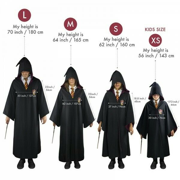 -=] CINEREPLICAS - Harry Potter GrifondGold mantelli ufficiali [=-