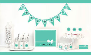 Bride Co Bridal Shower Party Wedding Decorations Starter