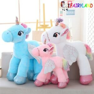 Adaptable 60cm Unicorn Plush Toys Giant Unicorn Stuffed Animal Horse Toy Soft Unicornio
