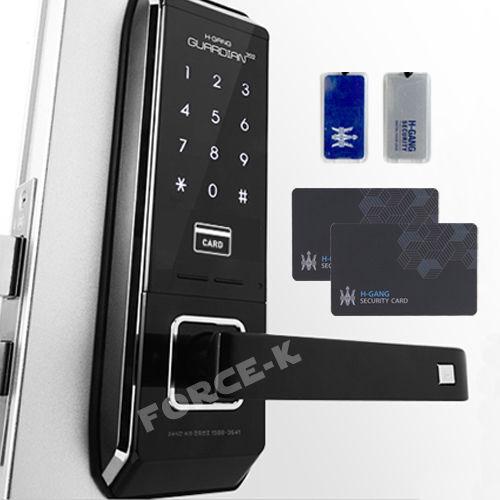 Digitale Türschloss H-GANG Guardian-S Intelligent Schloss Passwort  4 RF Karte    Perfekte Verarbeitung    eine große Vielfalt    Sale Online Shop    Ideales Geschenk für alle Gelegenheiten