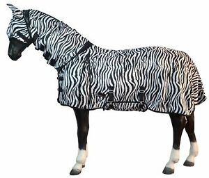 PREMIUM-FLY-COMBO-RUG-FIXED-NECK-WITH-BELLY-FLAP-AND-TAIL-ZEBRA-SALE