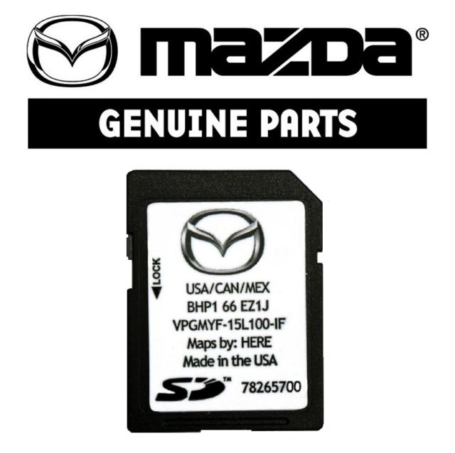 2017// 2018//2019 MAZDA Navigation SD Card BHP1 66 EZ1F USA//CAN//MEX