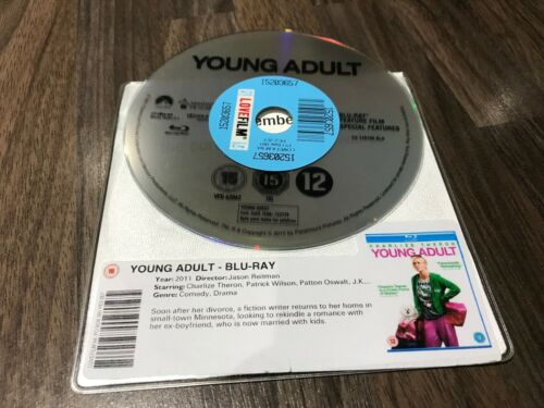 1 of 1 - Young Adult (Blu-ray, 2012) DISK ONLY