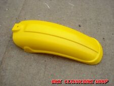 NOS Yamaha 77-80 YZ125 YZ125D YZ125E YZ125F YZ125G Rear Fender yellow Genuine JP