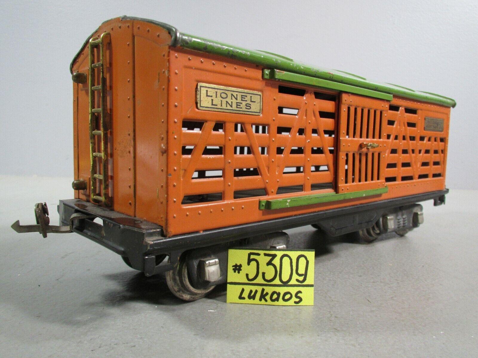 Lionel Standard Gauge 513 Cattle Car