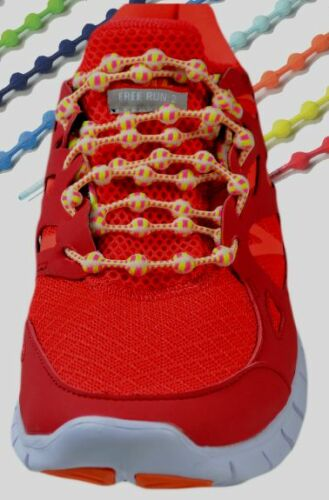 World Patent Hi-Tech New No Tie Shoe Laces Woven Elastic Spheroids