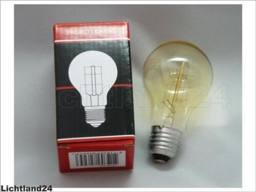 Edison Retro nostalgie Industrie Glühlampe 60 Watt Glühbirne 60W Vintage E27