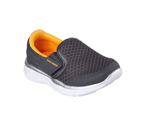 New Toddler Skechers Equalizer Lil Persistent Shoe Style 95489 Charcoal 129G dr