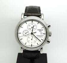 Tissot T-Classic CARSON Chronograph AUTOMATIC Leather Watch T0684271601100