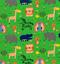 Vivero-Childrens-Tela-por-metros-Fat-Quarters-dinosaurios-aviones-Safari-Coser