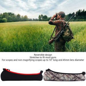 Hunting-Gun-Rifle-Scope-Cover-bag-Case-Neoprene-Reversible-Design-Protector