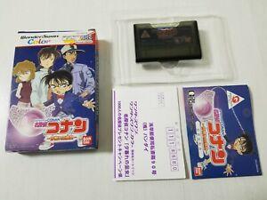 Bandai WonderSwan Color Detective Conan CIB Japan 0420A1