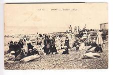 CPA  COMMES 14 - LE BOUFFEY LA PLAGE FEMMES PECHEURS DE CREVETTE VERS 1910 ~B08