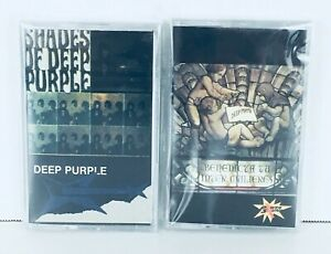 Deep-Purple-The-Book-of-Taliesyn-Shades-of-lot-of-Cassette-tapes