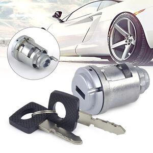 Bapmic 1264600604 Ignition Lock Cylinder w//Key for Mercedes Benz W124 W201 W126 190D 190E 260E 300D 300TD