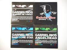 Unique Lot de 4 CD Single ▬ GABRIEL RIOS ▬ Port GRATUIT