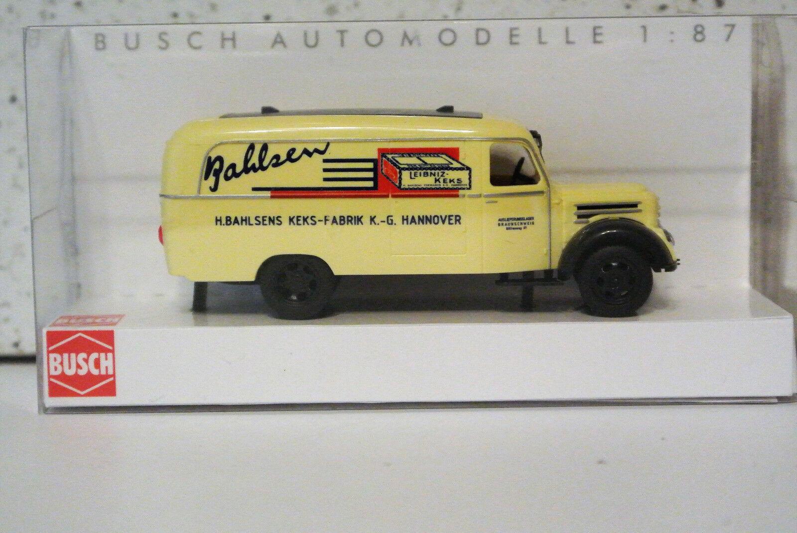 Busch Busch Busch 51810 Robur Garant K30 Bahlsen Leibniz Keks NIB 236f41