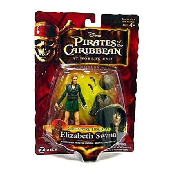 Pirates of The Caribbean The Worlds End Singapore Disguised Elizabeth Swann S...
