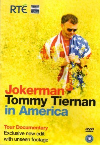 Tommy Tiernan Jokerman - New & Sealed DVD -