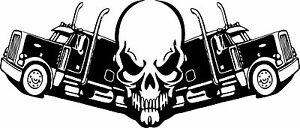 Truck-and-Skull-Stickers-350-mm-x-150-mm-Suitable-for-outdoor-use