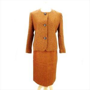 Orange Blazers Woman E1193 Dior Usato Suits Authentic qOCFxwEf