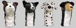 Set-of-4-Dog-Animal-Golf-Head-Covers-1W-3W-5W-7W-Hybrid-Gift-Accessories