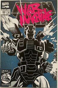1992-Iron-Man-282-1st-appearance-War-Machine-Armor