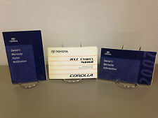 2007 Toyota Corolla OEM Owner's Manual  w/ Supplements - Free Shipping