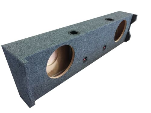 """VENTED Subwoofer Sub Box for 2017 Ford F150 Supercrew Crew Cab  2-12/"""" PORTED"""
